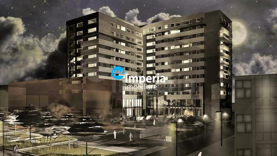 Apartamente noi de vanzare, 2 camere, CENTRU  PALAS, Comision 0%