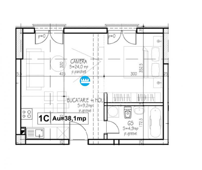 Apartamente noi, 1  2 camere, Semicentral  Podu de Fier