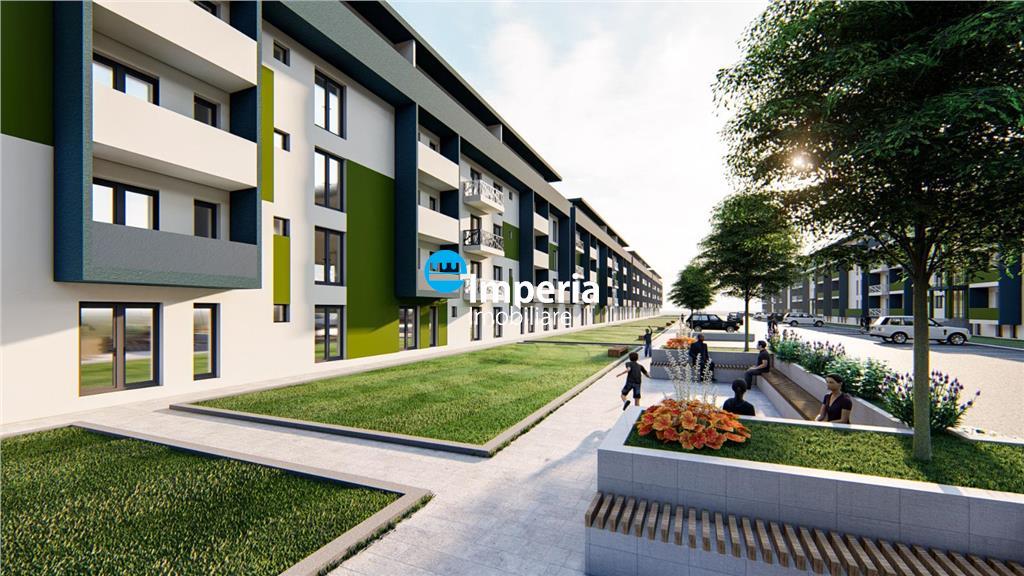 Apartament de vanzare,2 camere decomandat, bloc nou, Pacurari  Rediu