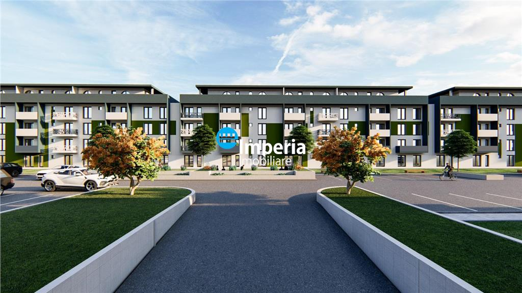 Apartament 1 cam, decomandat, bloc nou, Pacurari sos Rediu