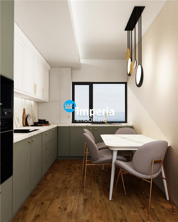 Apartament de vanzare 1 camera cu gradina, bloc nou,zona rond Pacurari