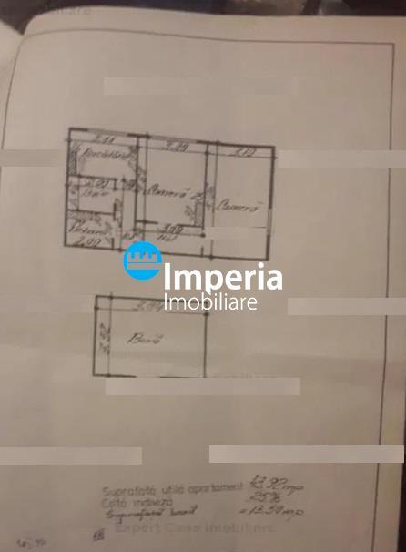 Apartament 2 camere, D, de vanzare in zona Copou  Parc Copou