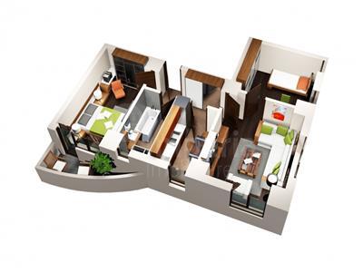 Apartament de vanzare, Nicolina - Cug, 3 camere
