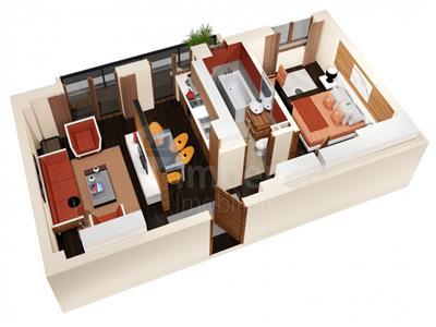 Apartament 2 camere decomandat 52mp bloc nou! Cug