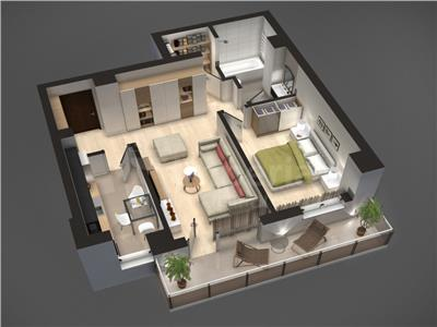 Apartament de vanzare,Tudor Vladimirescu-58,13 mp