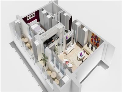 Apartament de vanzare 2 camere , bloc nou, Pacurari