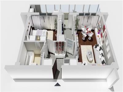 Apartament de vanzare 2 camere decomandat, bloc nou, Pacurari