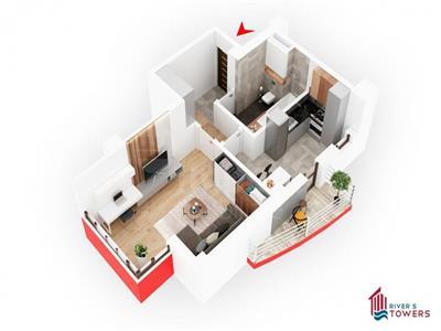 Apartament 2 camere, decomandat, 54 mp,Tudor Vladimirescu