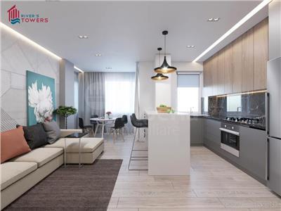 Apartament 2 camere, 45 mp,bloc nou,46350 euro,zona Tudor Vladimirescu