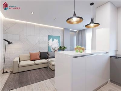 Apartament 1 camera,40 mp,bloc nou,44000 euro,zona Tudor Vladimirescu