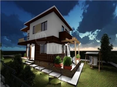 Vila in stil modern de vanzare in Iasi, zona Valea Adanca