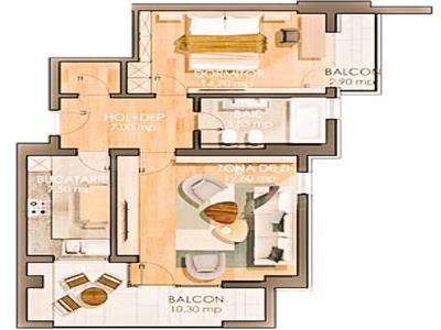 Apartamente noi, 2 camere cu parcare subterana inclusa, Pacurari