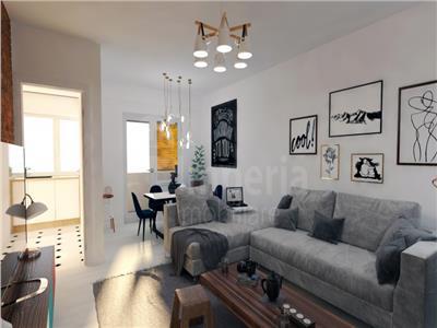 apartament cu 1 camera bloc nou,tatarasi-metalurgie,47795 euro Iasi