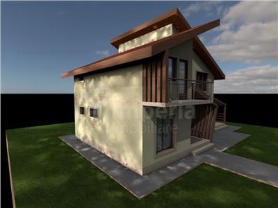 vila in stil modern de vanzare in iasi, zona lunca ctatuii