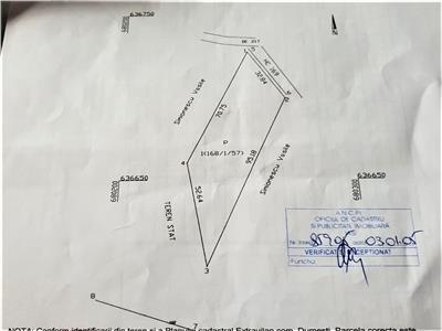 teren intravilan de vanzare in iasi, zona letcani