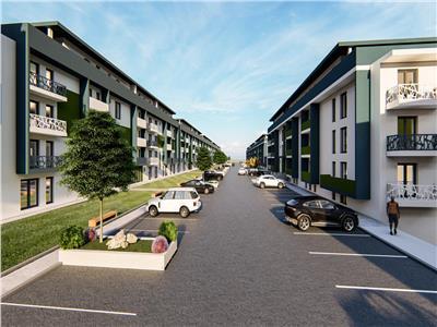 apartament de vanzare 3 camere decomandat, bloc nou, pacurari-rediu Iasi