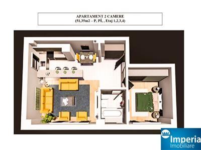 apartamente clasice in bloc nou - tatarasi flux, comision 0% Iasi