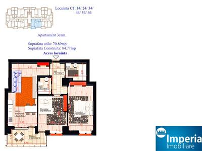 Apartamente noi, 3 camere, COPOU - Sadoveanu