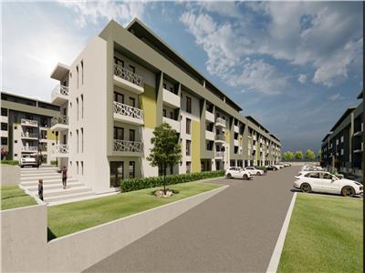 Apartament de vanzare,2 camere decomandat, bloc nou, Pacurari - sos Rediu