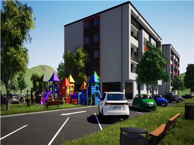 Apartament 2 cam, open - space, de vanzare in zona Bucium - Visan