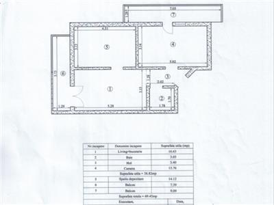 popas pacurari, bloc nou locuit, apartament 2 camere decomandat!!! Iasi