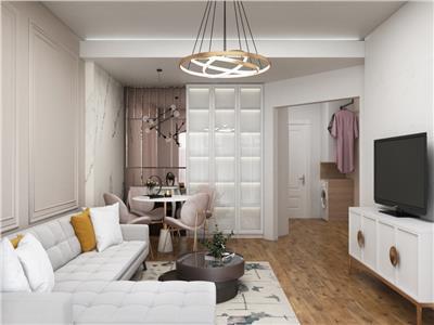 apartament de vanzare 2 camere, bloc nou,zona rond pacurari Iasi