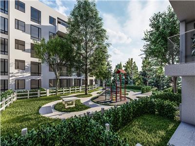 apartament de vanzare,2 camere cu gradina, bloc nou,zona rond pacurari Iasi