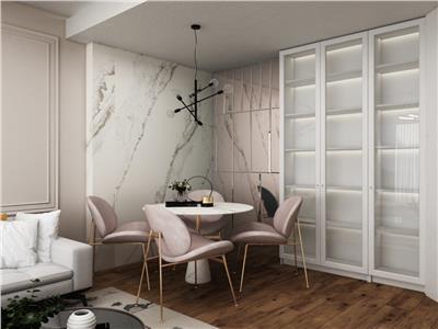 apartament de vanzare,3 camere cu gradina, bloc nou,zona rond pacurari Iasi