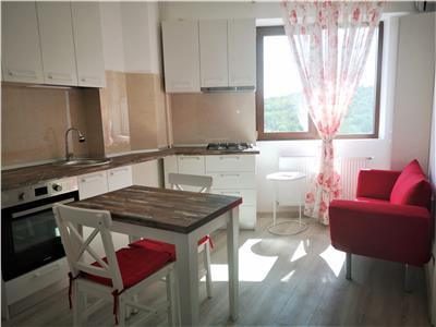 apartament 1 camera, complet amenajat, bloc nou, zona nicolina - rond vechi Iasi