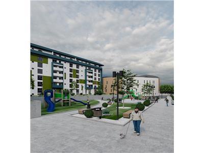 apartament de vanzare 3 camere decomandat, bloc nou, pacurari-kaufland Iasi