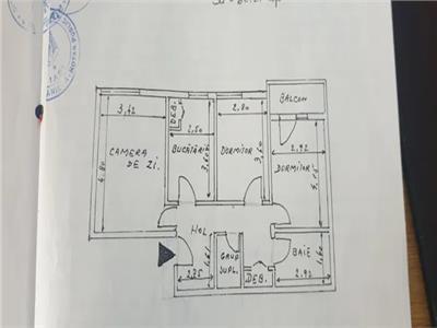 apartament 3 camere de vanzare tg- cucu - podu de fier Iasi