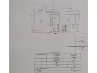 Apartament 2 cam D, de vanzare in zona Tatarasi - Flux Constructii