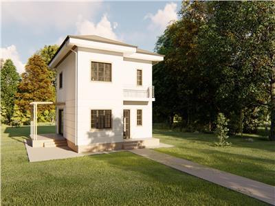 Casa individuala, de vanzare in Iasi 4 camere, Breazu-Padurea Marzesti