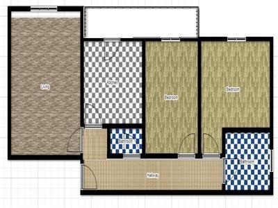 63.000 euro apartament cu 3 camere, de vanzare, in zona cug Iasi