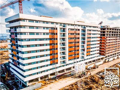 apartament 2 camere 64mp, mutare 2021, copou - garden Iasi