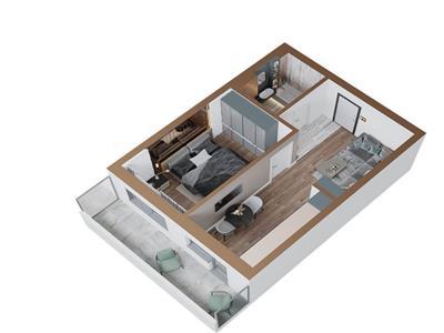 copou -  aleea sadoveanu, apartament 2 camere, complex rezidential nou! Iasi