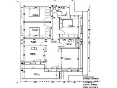 Casa P+M, 110 mu si 480 teren, 5 drumuri, Valea Adinca