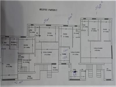 Apartament 3 cam, 670 euro mp, gradina 100 mp, parcare, in com. Ciurea Iasi