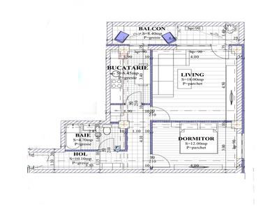 Apartament 2 camere, decomandat, de vanzare, Galata - Sos. Voinesti